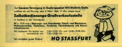 Eröffnung HO Stassfurt